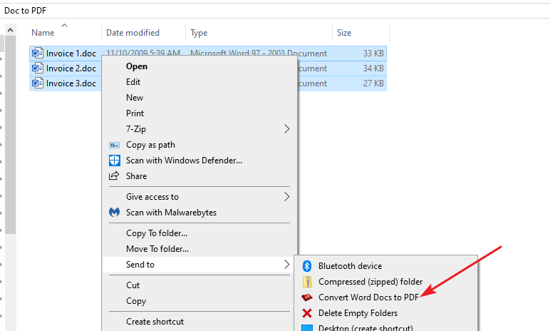 How to Batch Convert Word Documents into PDF Files