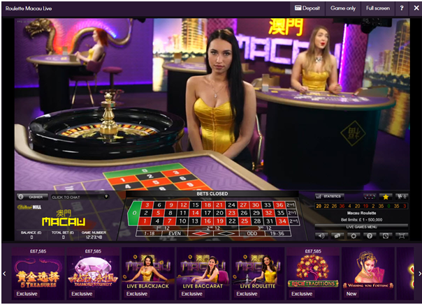 Where to play high limit Roulette