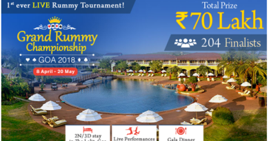 Live Rummy Tournament at Goa