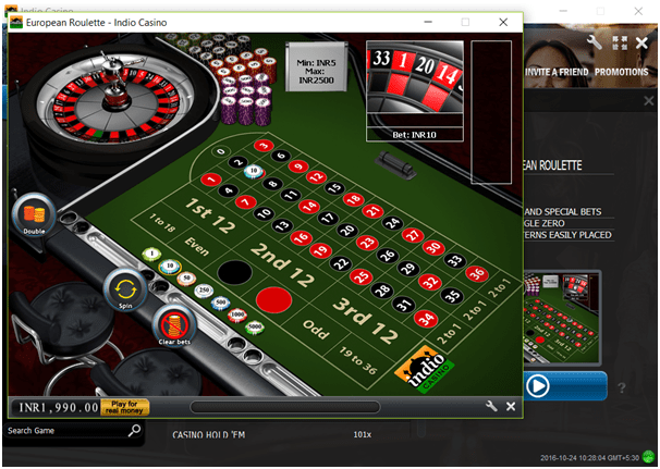 Playing Free Roulette Game