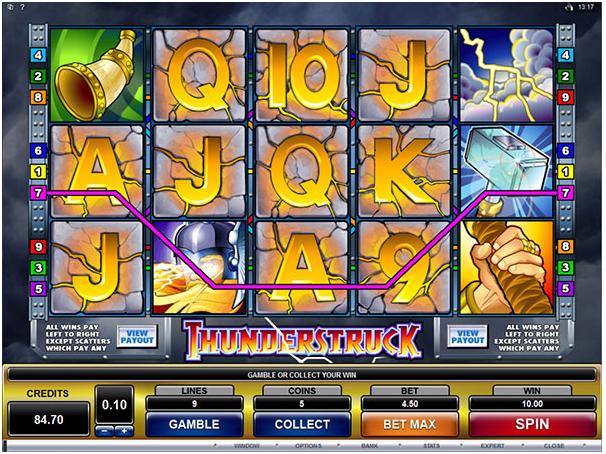 Thunderstruck game symbols