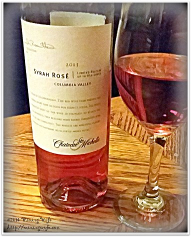 Chateau Ste. Michelle 2013 Syrah Rose
