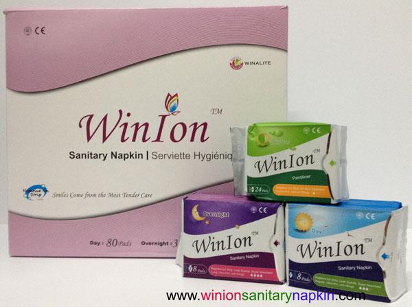 WinIon Sanitary Napkin - Mix Set