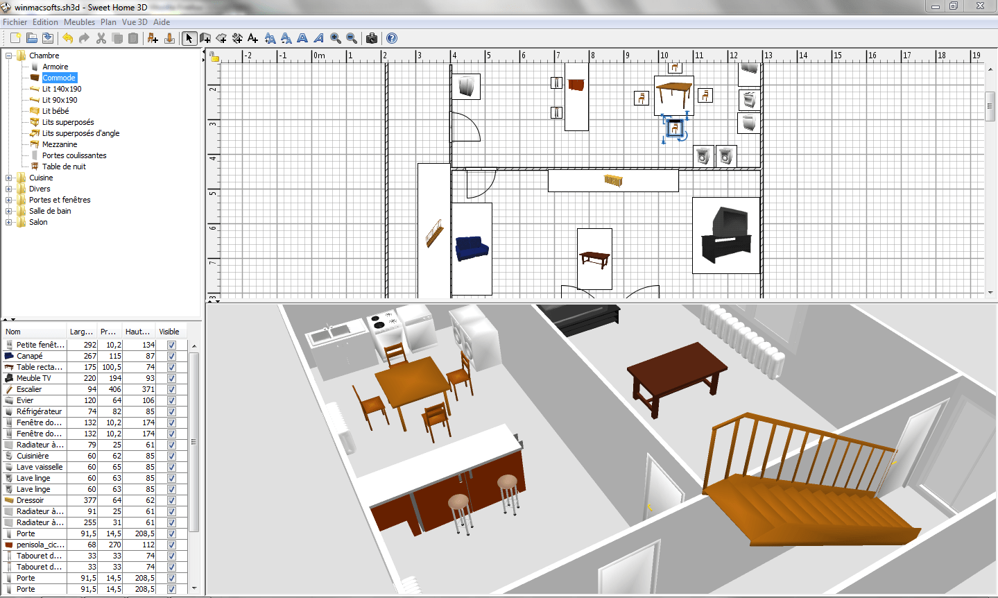 Jeux Sweet Home 3d A Sketchup Et Sweet Home 3d