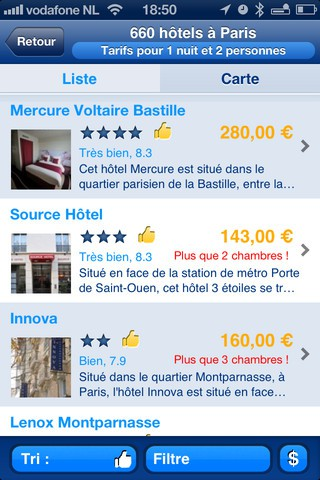 Booking.com iPhone iPod iPad