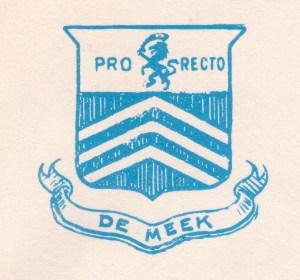 Meek Crest - Wax Stamp