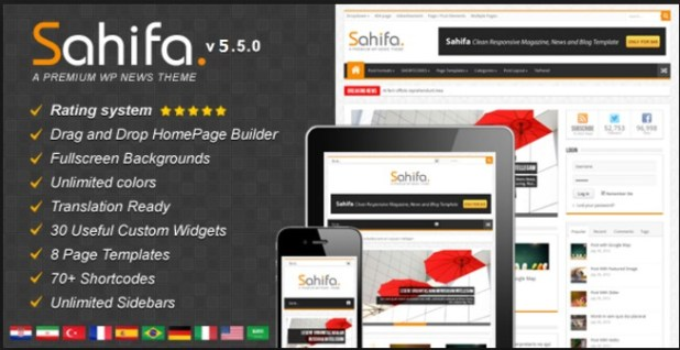 The best wordpress theme forever - sahifa