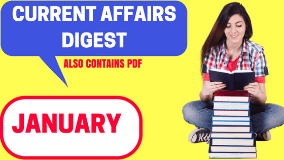 Tnpsc Current Affairs January 2019 in Tamil & English