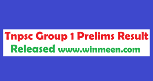 Tnpsc Group 1 Prelims Result