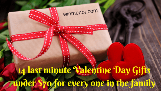 14 last minute Valentine Day Gifts under $70 for every one in the family