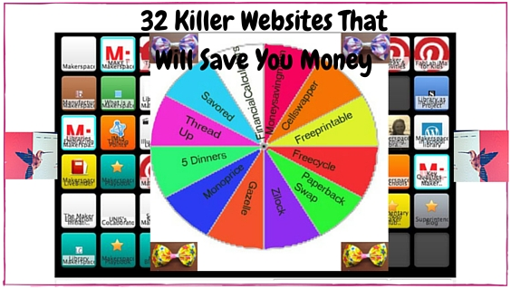 32 websites that will save money