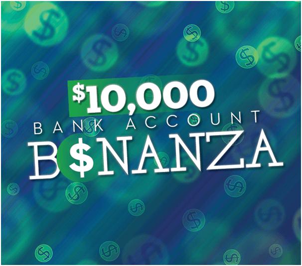 Bank Account Bonanza
