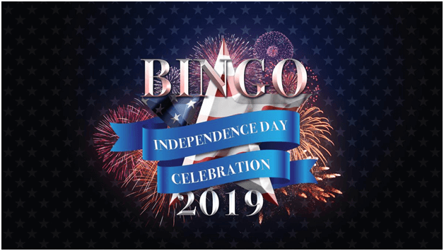 Play Bingo on Independence Day