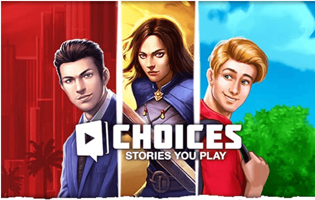 Choices: Stories you play game app