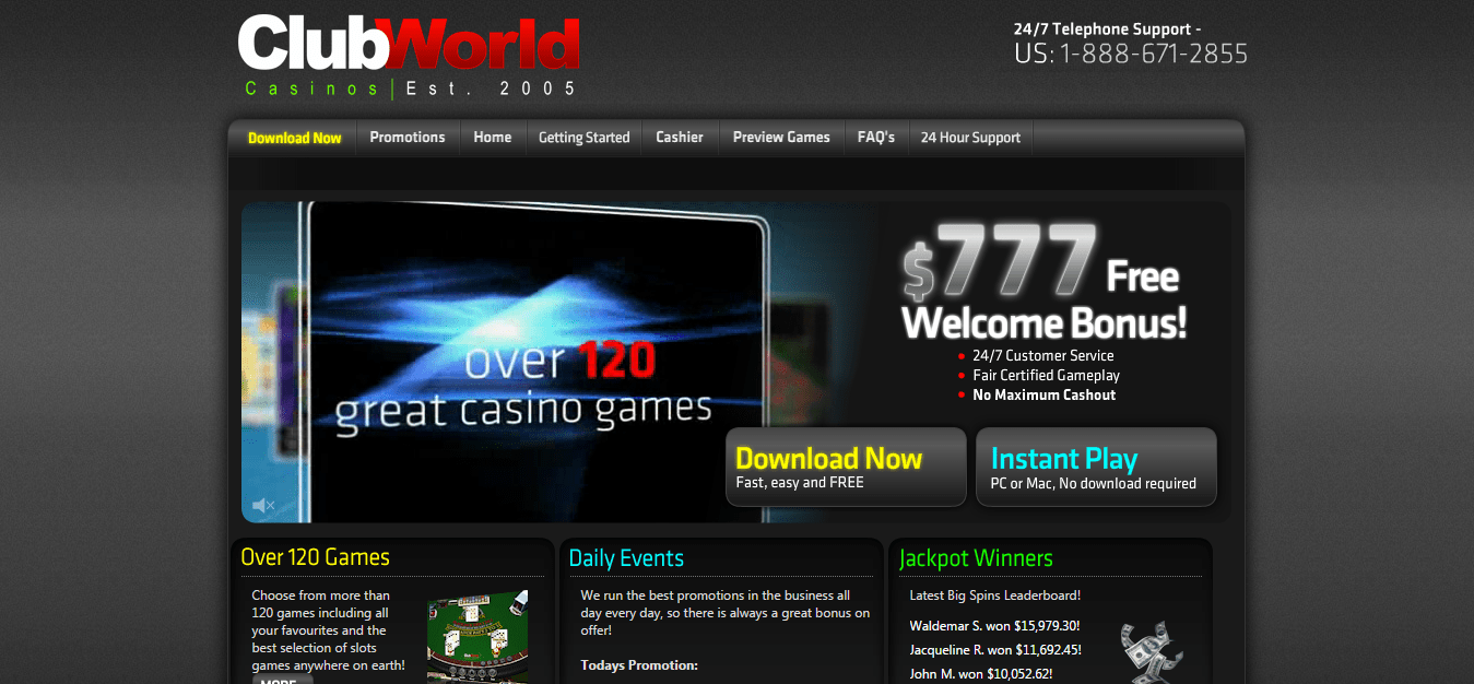 ClubWorldCasinos.com