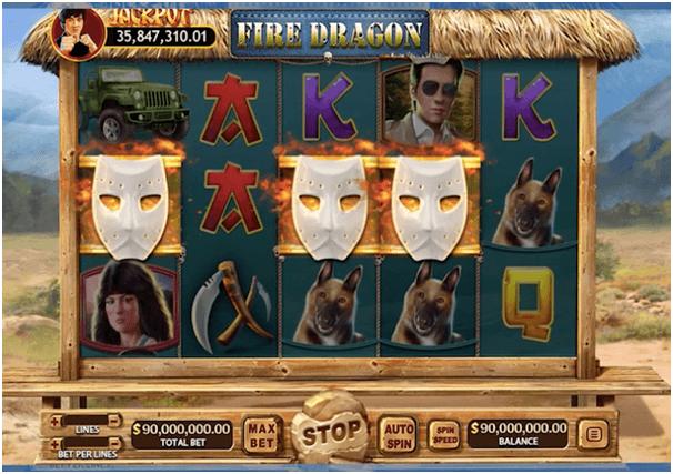 Fire Dragon Slot game