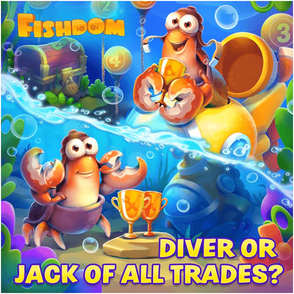 How to get  free coins on Fishdom