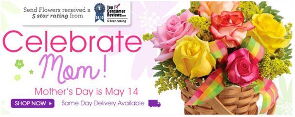 Flowers for your mom