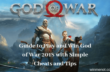 Guide to Play and Win God of War 2018 with Simple Cheats and Tips