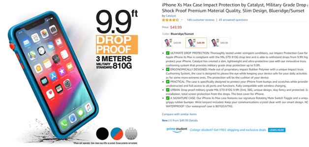 iPhone Max case