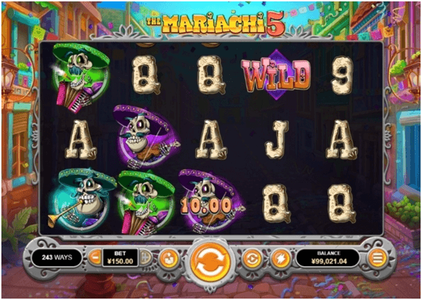 Mariachi 5 slot game- How to play