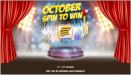 October spin to win