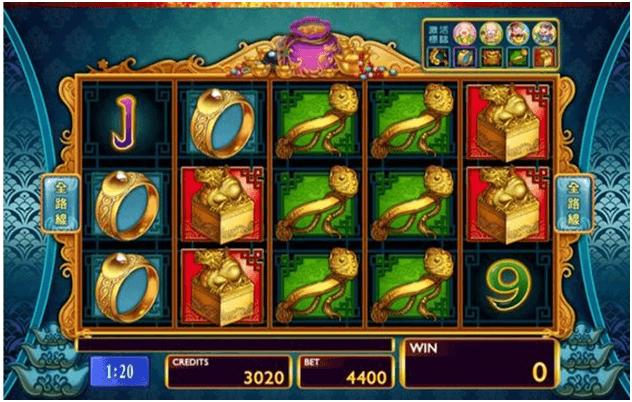 Game symbols in Plentiful Treasure slot