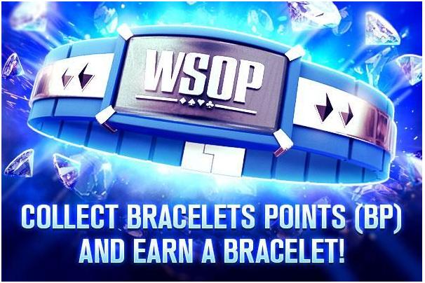 WSOP- Bracelet points