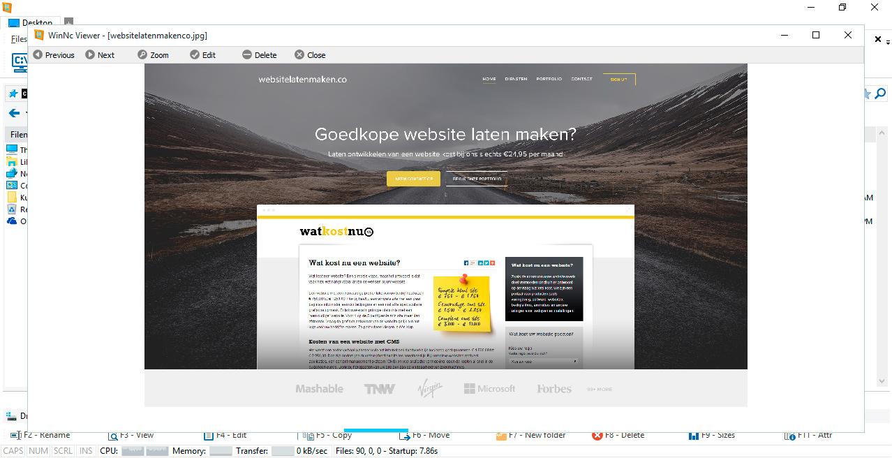 WinNc image viewer