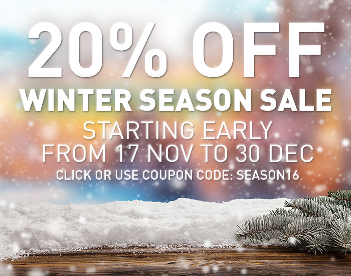 WinNc season sale - 20% off