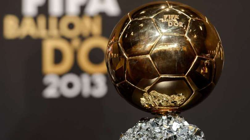 FIFA Ballon d'Or trophy