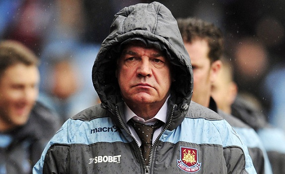 Sam Allardyce's West Ham have been woeful in front of goal this season