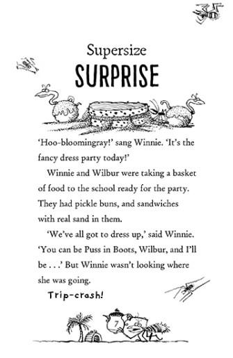 Winnie takes the plunge