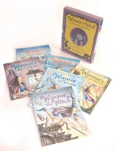 Winnie 6 books and 2 CD collection