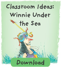 Winnie Classroom ideas: Winnie Under the Sea