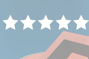 5 stars over house