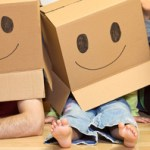 Moving can be fun with children