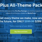 StudioPress's Pro Plus All-Theme Package On Sale