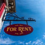 For Rent Sign _ Eviction Moratorium