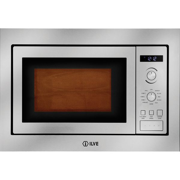 ilve 25l built in 800w microwave oven with trim kit iv602bim