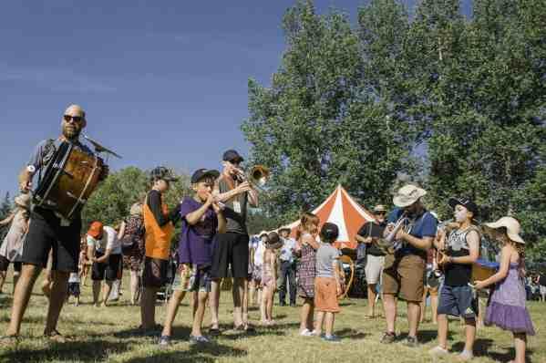Winnipeg Folk Festival crowd photo