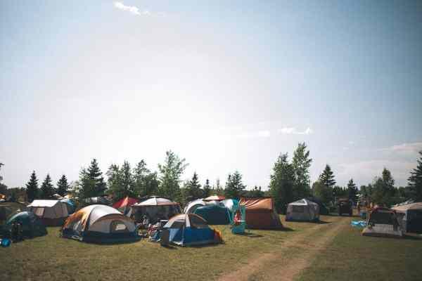 Winnipeg Folk Festival campground