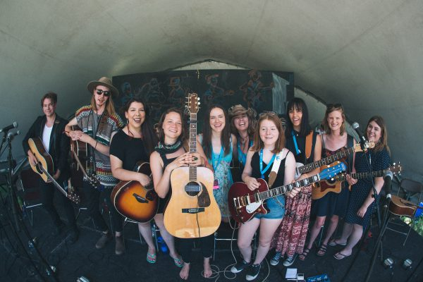 Winnipeg Folk Festival performers photo