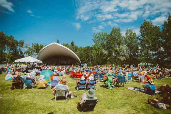 Winnipeg Folk Festival stage photo