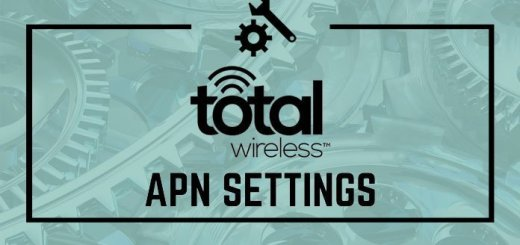 Total Wireless APN Settings