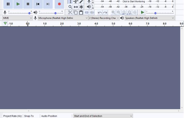 Программа для создания битов Audacity Free