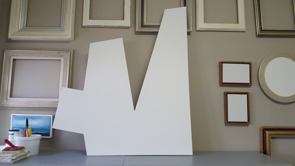 bespoke shape canvas