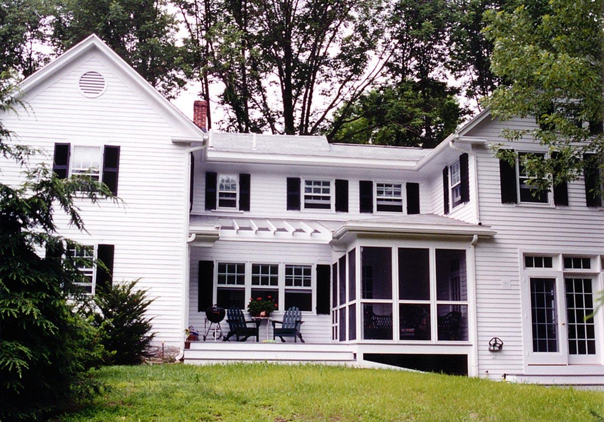 Winslow Architects Arlington Ma single family residential lincoln ma