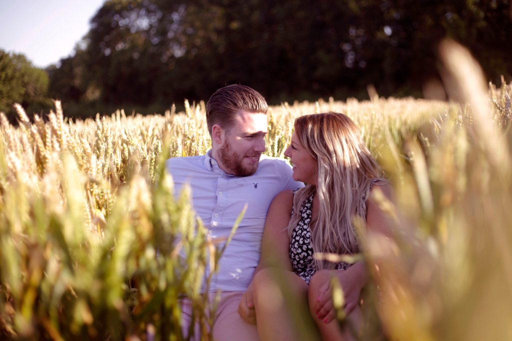 Wedding Photographer south west south wales engagement shoot