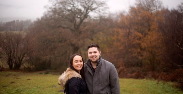Couples shoot – Allt-yr-yn Nature Reserve